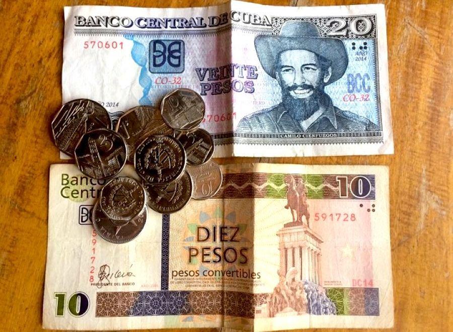 Argent et devises à Cuba